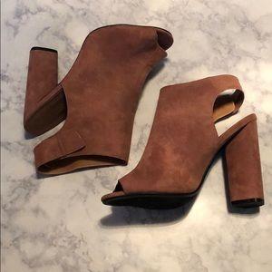 Charlotte Russe • Dusty Rose peep toe pump